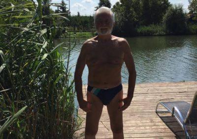 Éppen most vagyok 77 éves
