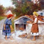 kenyér sütés