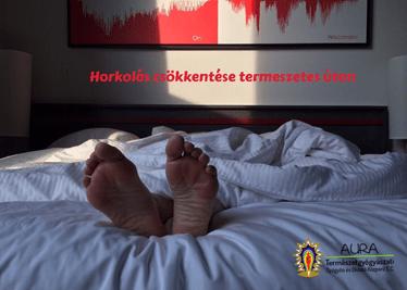Horkolás csökkentés természetes úton!
